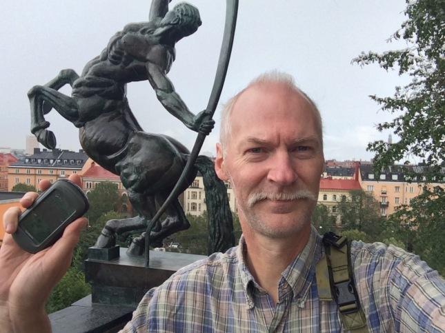 I Stockholm uppe på höjden...